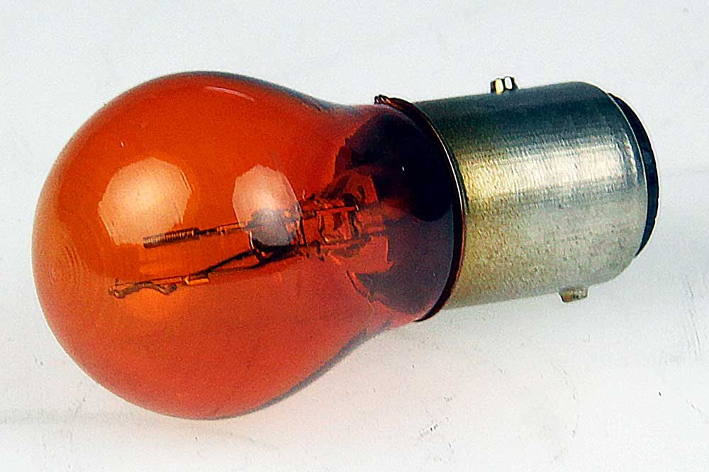 Lamp geel/oranje duplo 21/5W SAAB