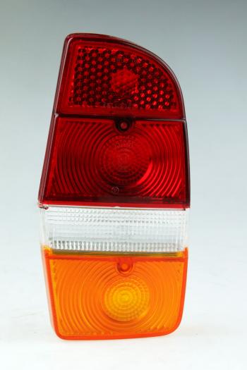 Achterlicht glas LINKS Oranje / wit / rood Volvo 140, 164