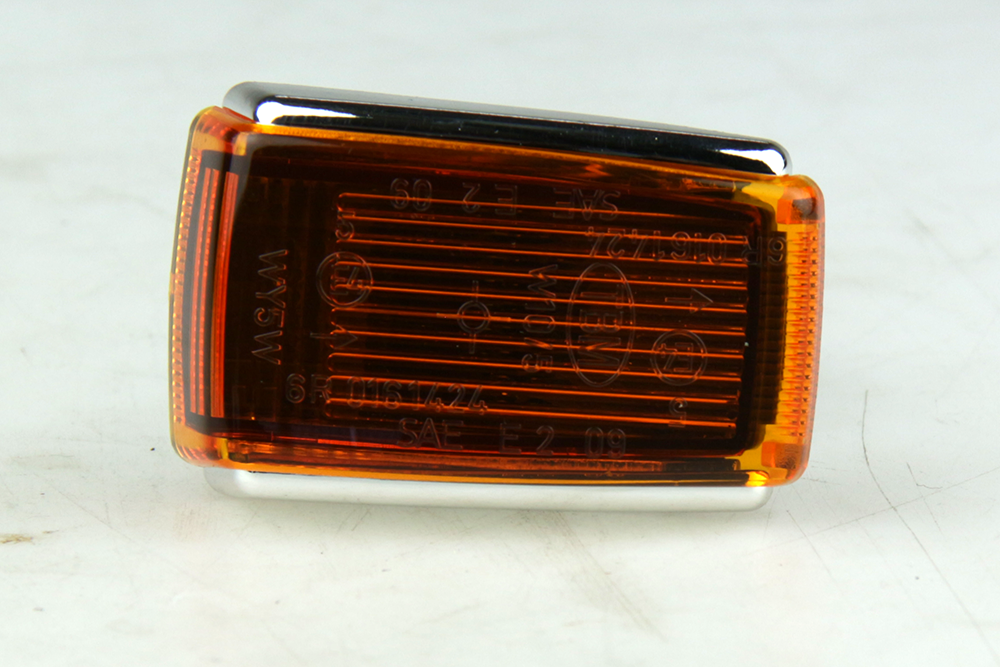 RAW unit voorscherm Oranje / Chrome Volvo 200, 700, 900, S90