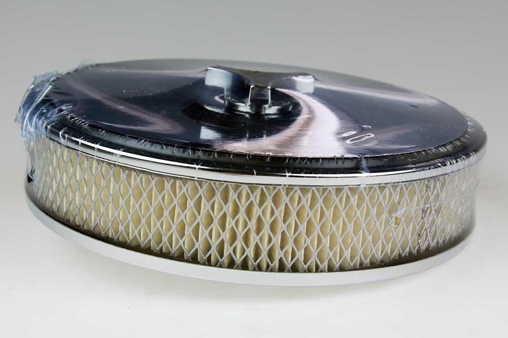 Luchtfilter WEBER 32/36 rond chrome