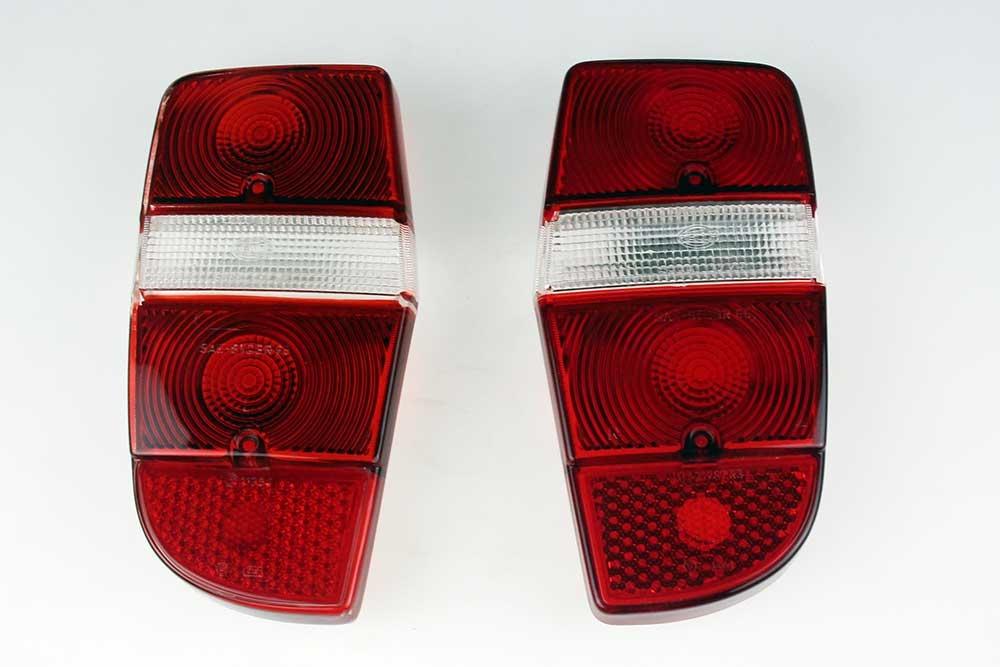 Achterlichtglas SET Rood / Wit / Rood
