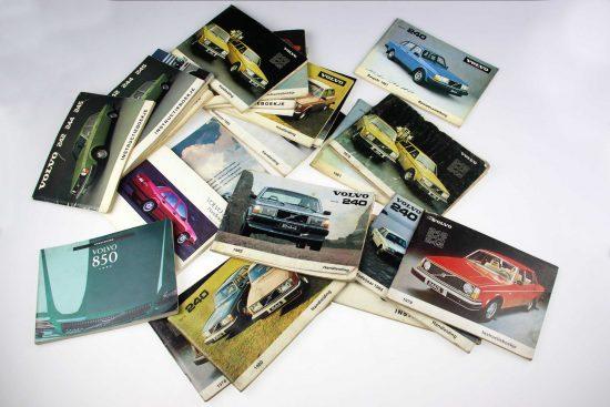 Volvo Handleidingboekjes verschillende types