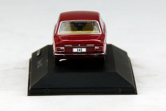 Atlas model nr 27 Volvo 142 Rood