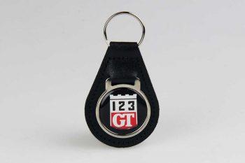 """Sleutelhanger """"123GT"""""""