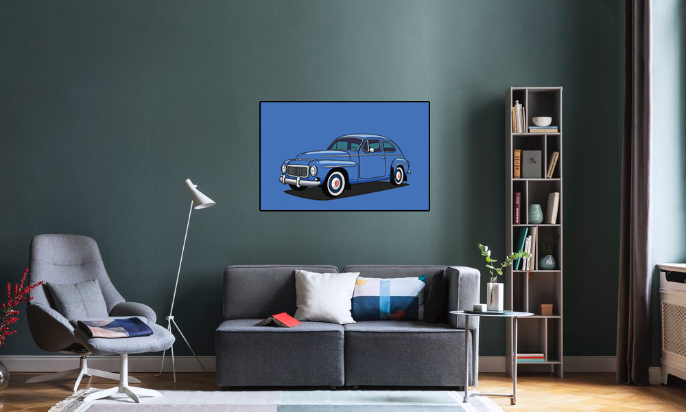 Poster Volvo Katterug 544/444